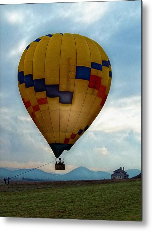 Hot Air Balloon Metal Print featuring the photograph The Impressionable Balloon by Glenn McCarthy Art and Photography