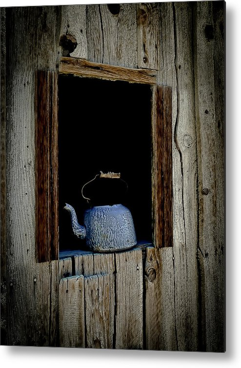 Tea Metal Print featuring the photograph The Kettle by Joan McDaniel
