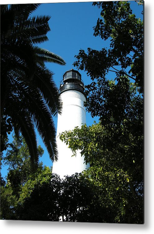Lighthouse Metal Print featuring the photograph The Lighthouse by Audrey Venute