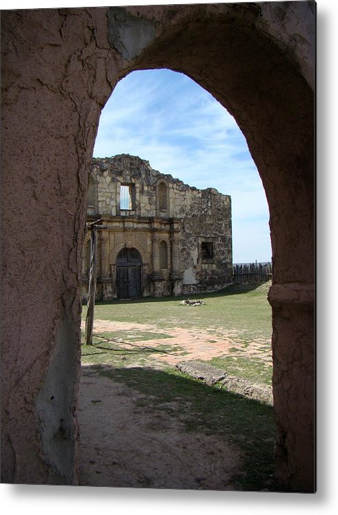 Alamo Metal Print featuring the photograph The Other Alamo by Ana Villaronga