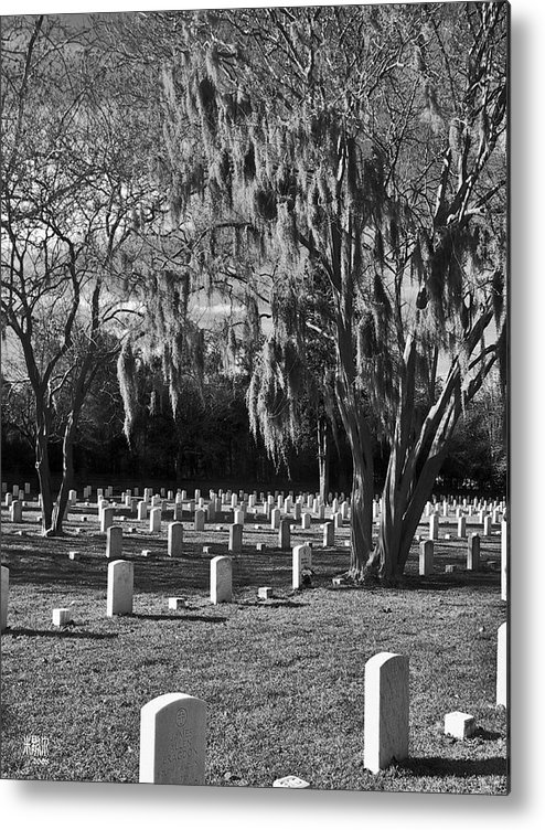Cemetary Metal Print featuring the photograph This Is War by Michele Caporaso