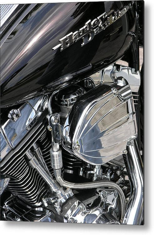 Motorcycle Metal Print featuring the photograph Timeless by Jim Derks