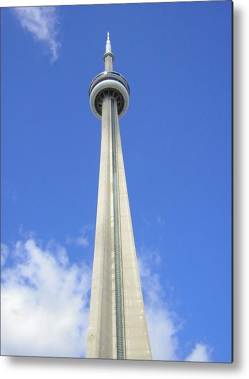 Toronto Needle Metal Print featuring the photograph Tornto Needle by Heather Weikel