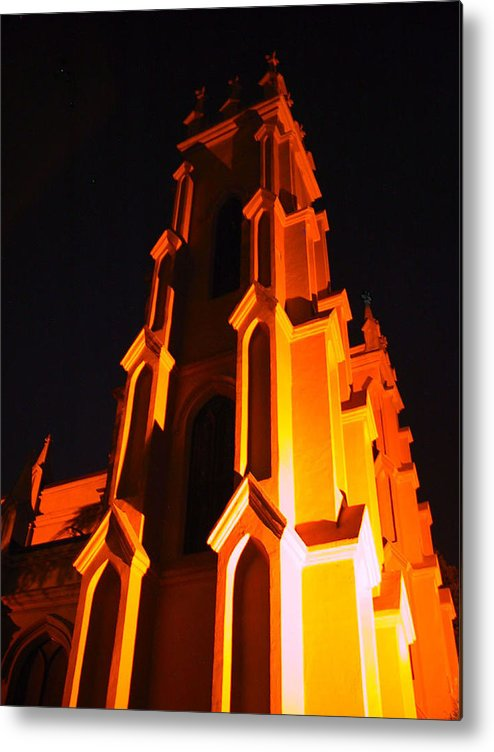 Church Metal Print featuring the photograph Trinity by Michele Caporaso