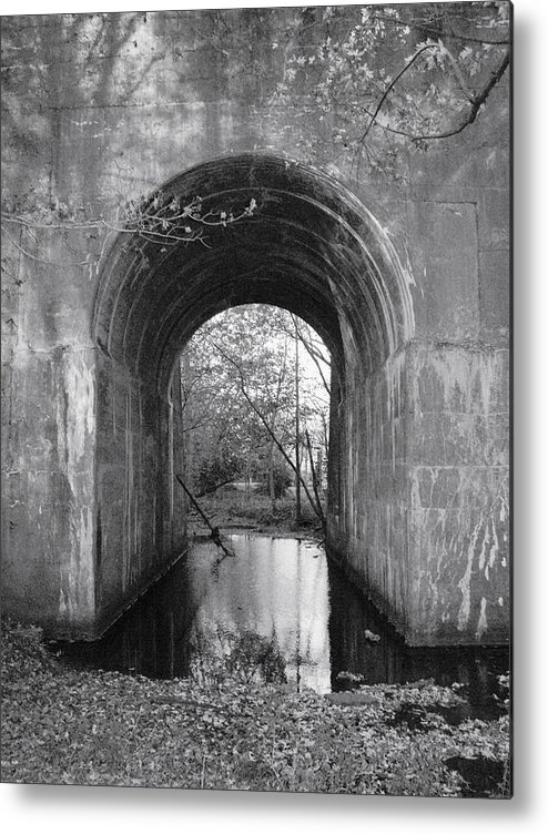 Creak Metal Print featuring the photograph Tunnel by Keith Gray