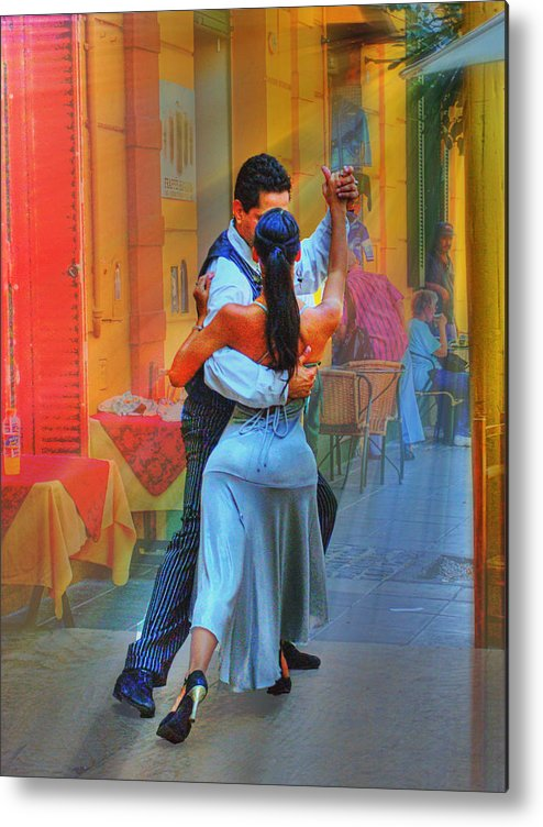 Dance Metal Print featuring the photograph Two Tango by Francisco Colon