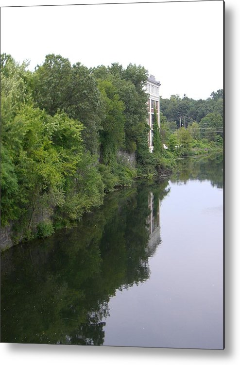 River View Metal Print featuring the photograph View From Chimera by Nancy Ferrier