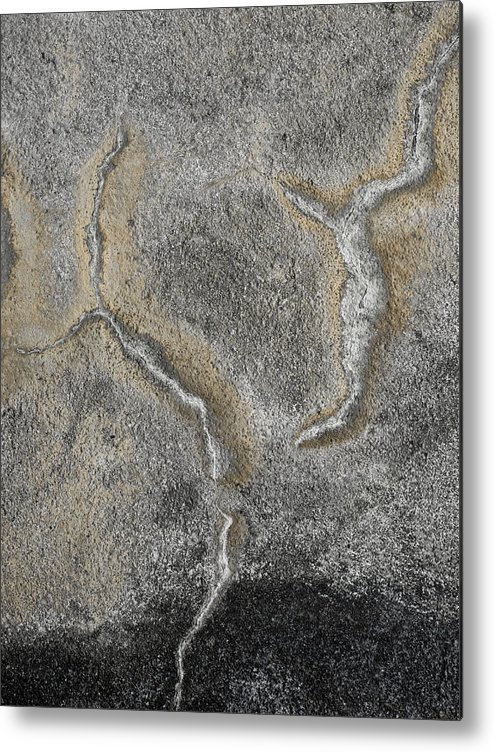 Wall Metal Print featuring the photograph Wall Texture Number 3 by Carol Leigh