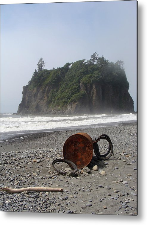 Nature Metal Print featuring the photograph Washed Up by Ty Nichols