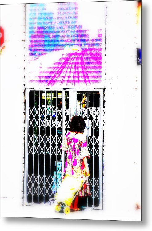 Window Metal Print featuring the photograph Window Shopping Lyon Style by Funkpix Photo Hunter