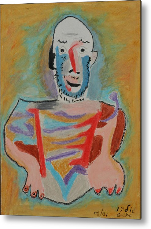 Picasso Metal Print featuring the painting After Picasso by Harris Gulko