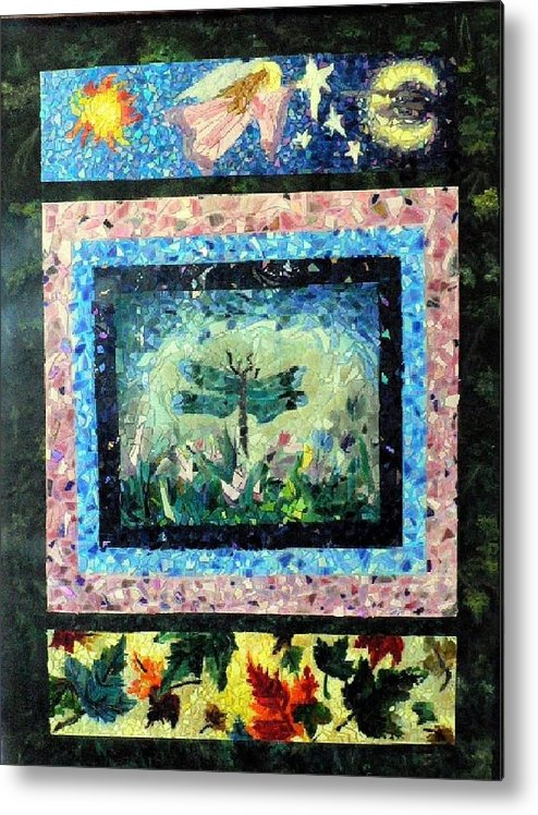 Acrylic Metal Print featuring the painting Journey by Cynthia Ann Swan