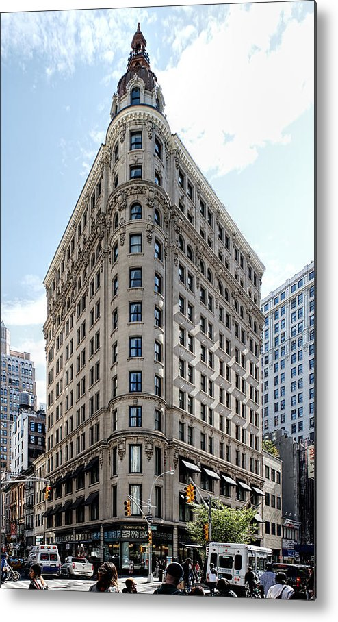 Beaux Arts Metal Print featuring the photograph Johnston Building - Nomad Hotel by Kenneth Grant