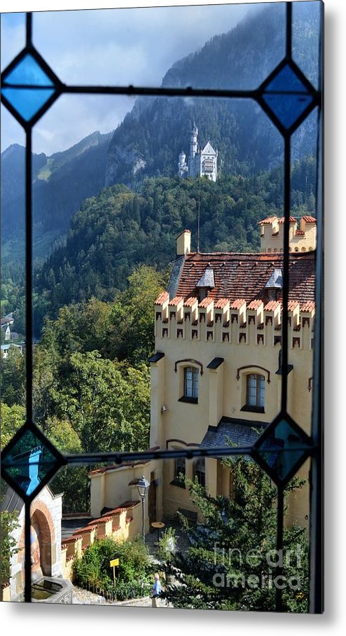 Castles Metal Print featuring the photograph View Of Castles by Edna Weber