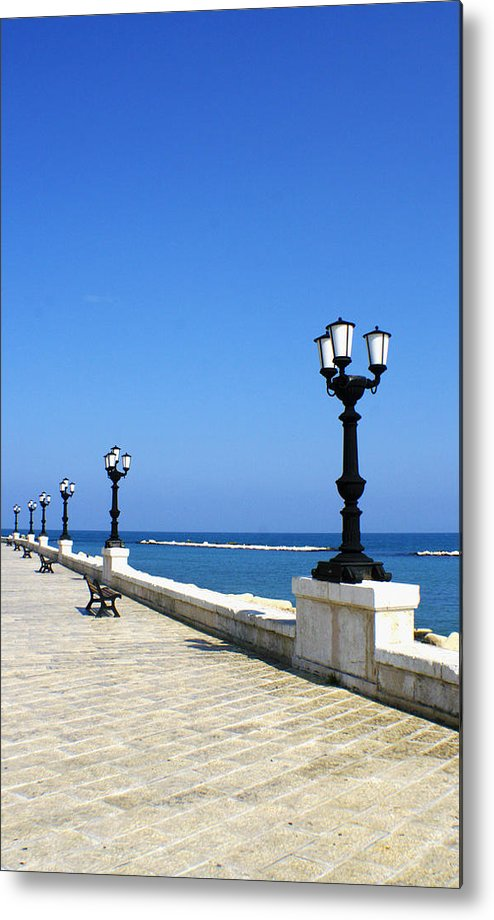 Bari Metal Print featuring the photograph Bari Waterfront by Rob Tullis