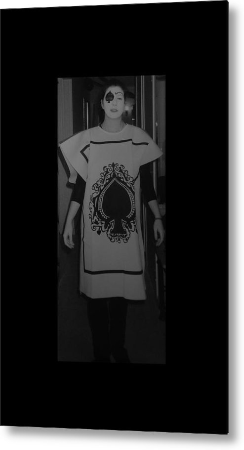 Ace Of Spades Metal Print featuring the photograph Jen Of Spades by Rob Hans