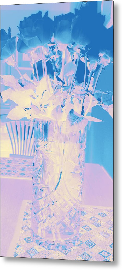 Roses Metal Print featuring the photograph Roses #12 by Anne Westlund