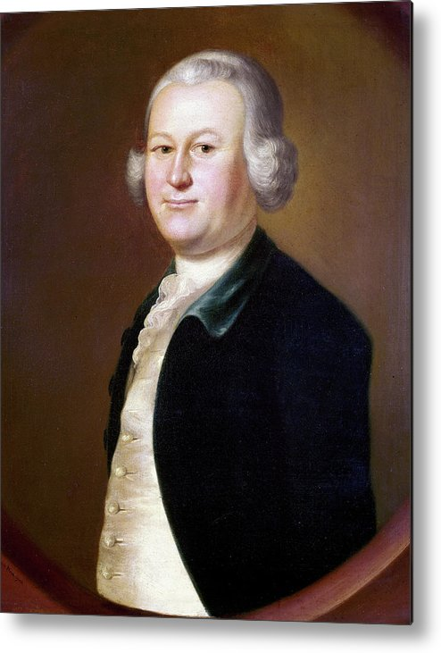 1755 Metal Print featuring the painting James Otis (1725-1783) by Granger