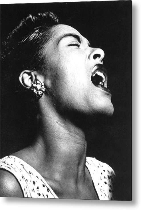 1948 Metal Print featuring the photograph Billie Holiday (1915-1959) by Granger