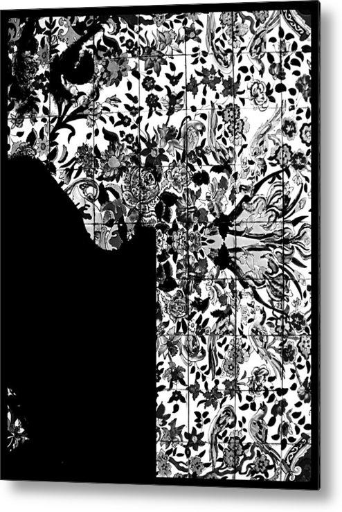 Hidden By Da Mask Metal Print featuring the photograph Hidden By Da Mask by Susan Maxwell Schmidt