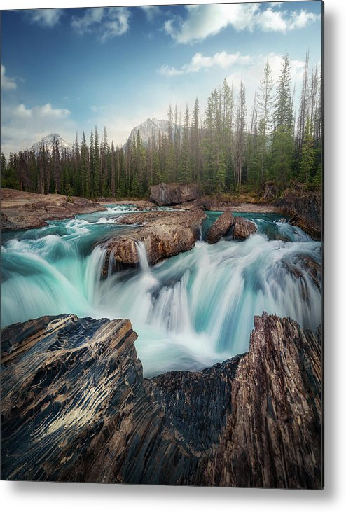 Canada Metal Print featuring the photograph Layers by Juan Pablo De
