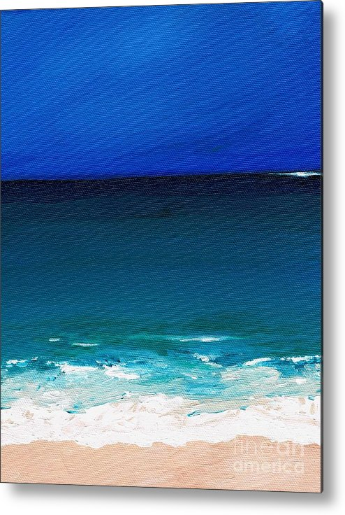 Seashore Metal Print featuring the painting The Tide Coming In by Frances Marino