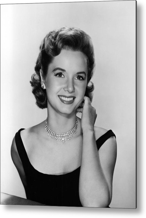 Necklace Metal Print featuring the photograph Debbie Reynolds, 1956 by Everett