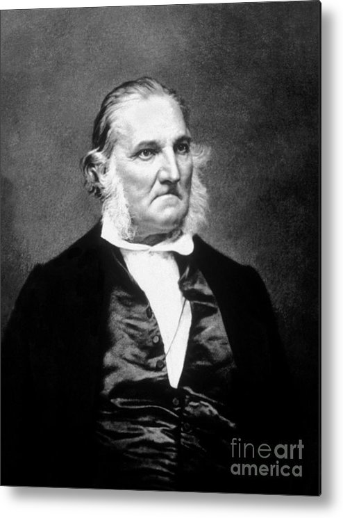 History Metal Print featuring the photograph John James Audubon, French-american by Science Source