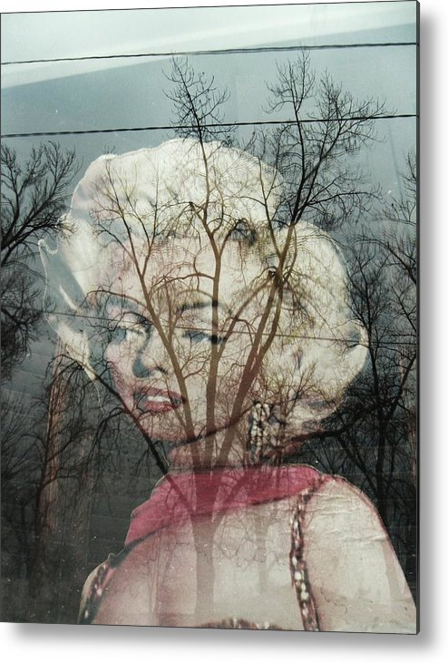 Surreal Marilyn Monroe Metal Print featuring the photograph The Ghost Of Norma Jean by Todd Sherlock