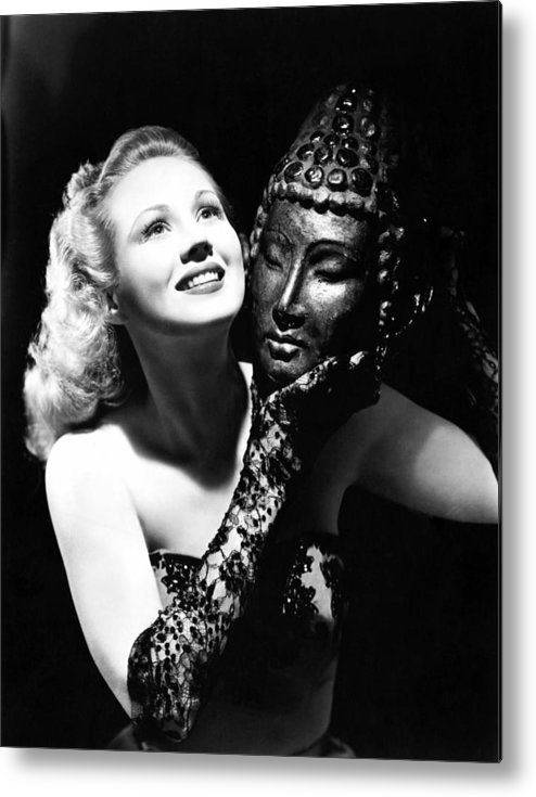 1940s Portraits Metal Print featuring the photograph Virginia Mayo, Ca. Early 1940s by Everett