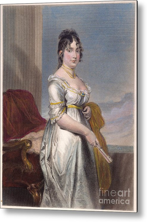 18th Century Metal Print featuring the photograph Dolley Payne Todd Madison by Granger