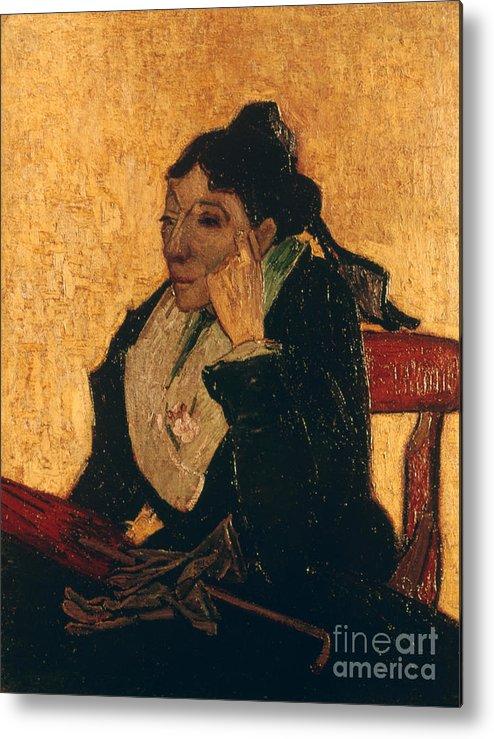 1888 Metal Print featuring the photograph Van Gogh: Larlesienne, 1888 by Granger