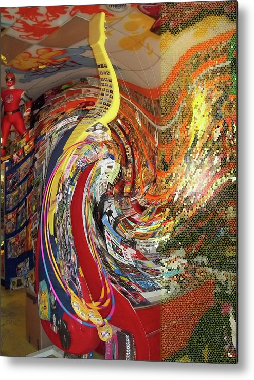 Swirl Metal Print featuring the photograph Afternoon Hallucination by Anne Cameron Cutri