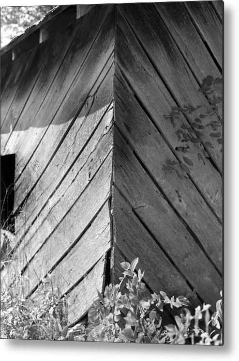 Wood Metal Print featuring the photograph Diagonals by Curtis J Neeley Jr