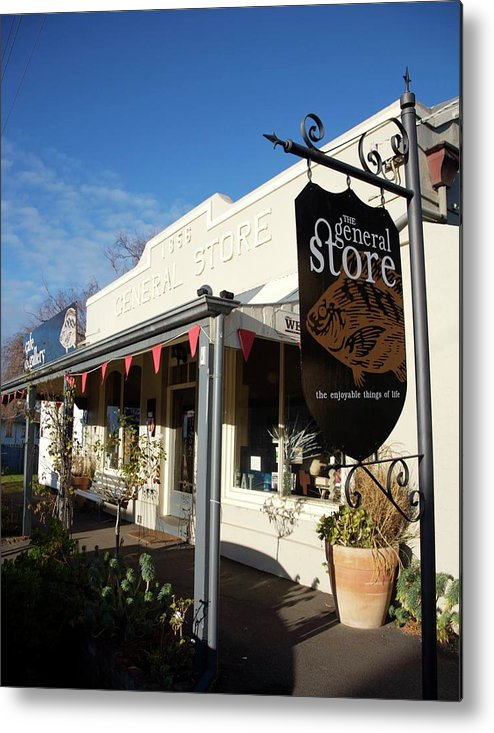 Ruralscapes Metal Print featuring the photograph General Store by Lee Stickels