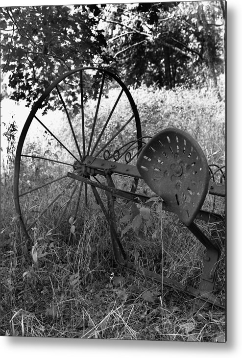 Ansel Adams Metal Print featuring the photograph Hogeye Hayrake by Curtis J Neeley Jr