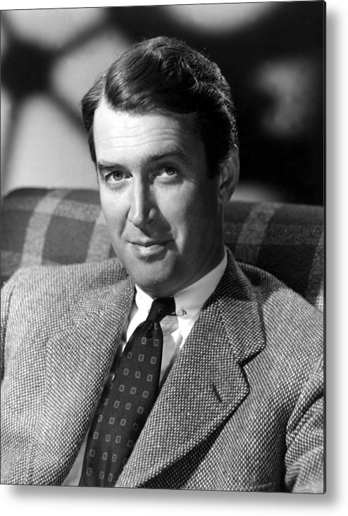 1930s Portraits Metal Print featuring the photograph James Stewart, C. 1940s by Everett