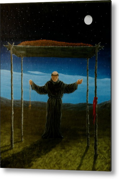 Ceremony Metal Print featuring the painting Last Rites by Arnold Isbister