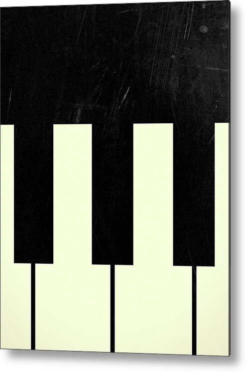 Piano Metal Print featuring the digital art Ray by Leandro Jorge