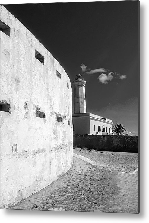 Lighthouse Metal Print featuring the photograph Sea Perspectives by Marcello Montinari