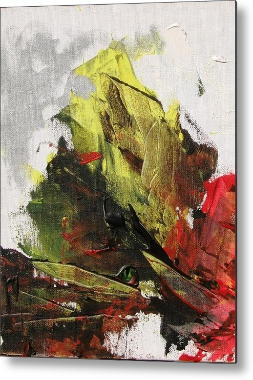 Sails Metal Print featuring the painting Shipwreck by Bruce Combs - REACH BEYOND