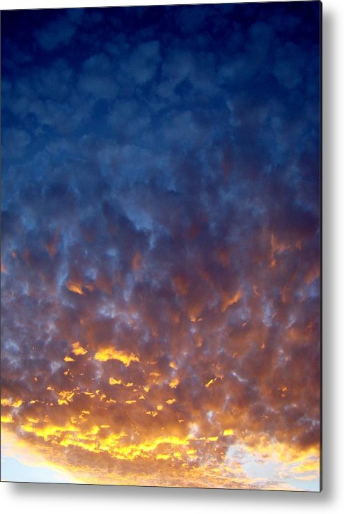 Clouds Metal Print featuring the photograph Supernatural Cloud Two by Ana Villaronga