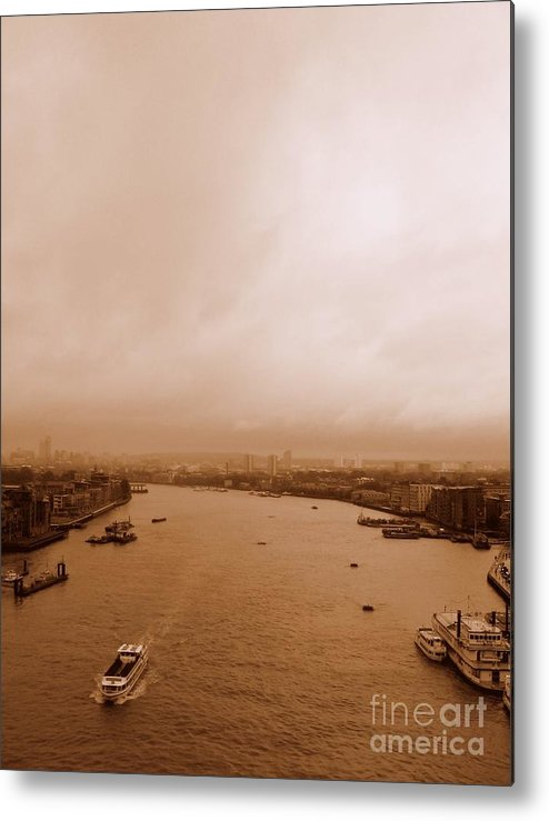 Thames Metal Print featuring the photograph Thames by Anita Kovacevic