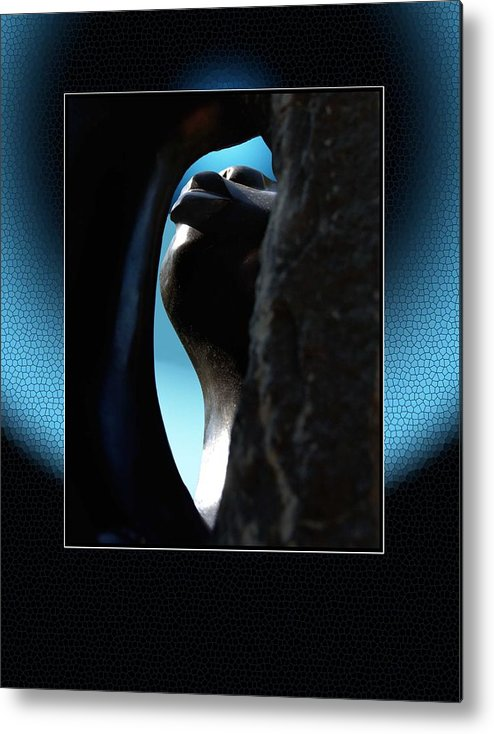 African Art Metal Print featuring the photograph Stoneview by Richard Gordon
