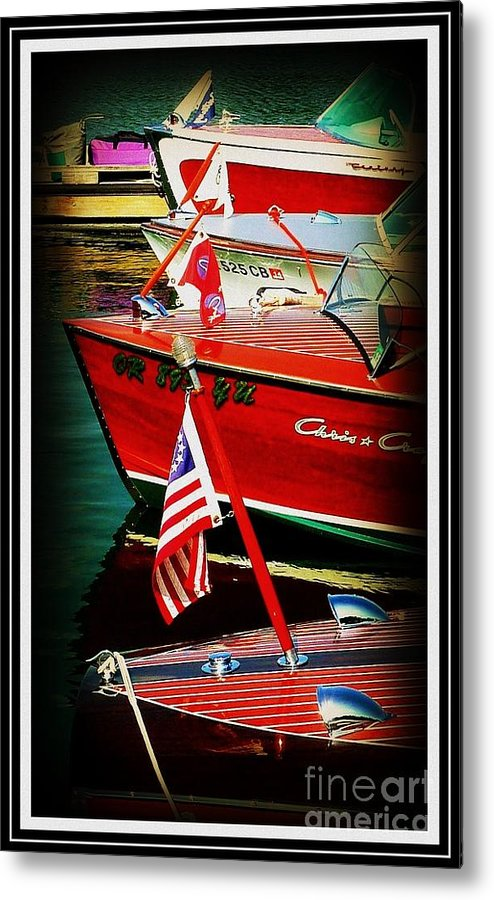 Line Up Metal Print featuring the photograph Line Up by Susan Garren