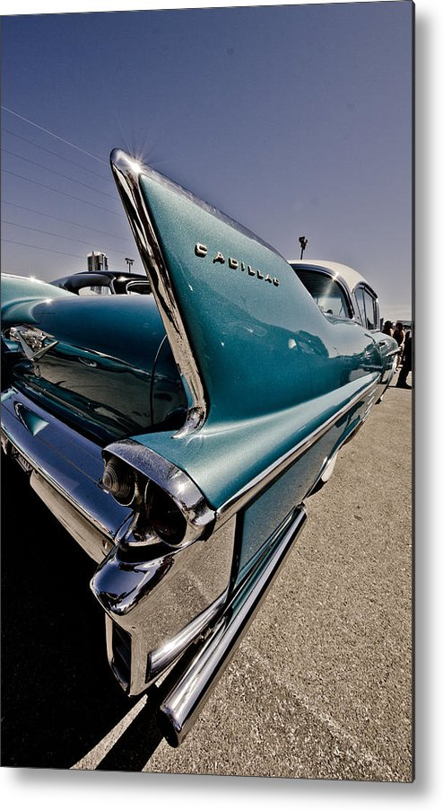 Cadillac Metal Print featuring the photograph Streamlined by Merrick Imagery