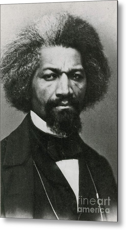 History Metal Print featuring the photograph Frederick Douglass, African-american by Photo Researchers