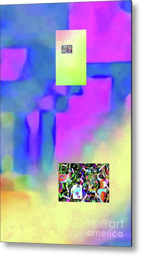 Walter Paul Bebirian Metal Print featuring the digital art 5-14-2015fabcdefghijklmnopqrtuvwxyzabcde by Walter Paul Bebirian