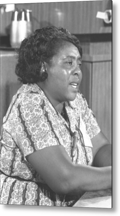 History Metal Print featuring the photograph Fannie Lou Hamer 1917-1977 by Everett