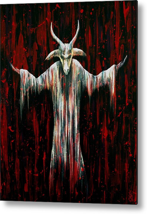 Hartwell Metal Print featuring the painting Savior by Steve Hartwell